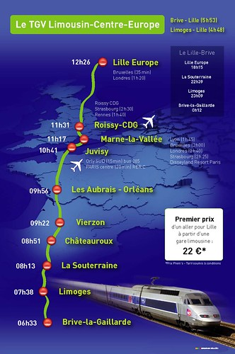 TGV Limousin Centre Europe