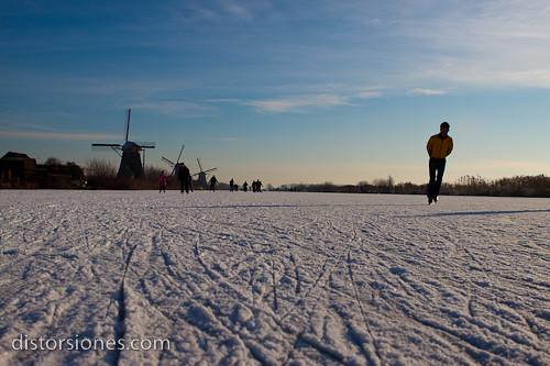 Una inmensa pista de patinaje