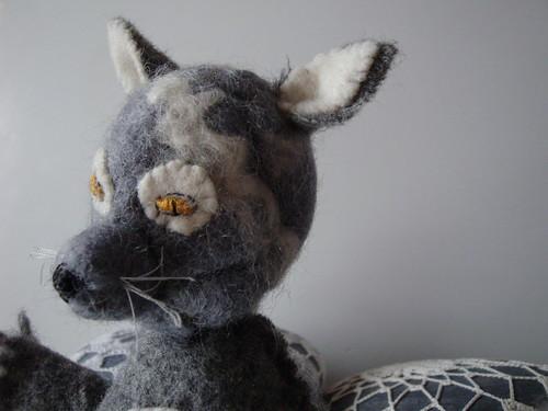 taking a break from crocheting by knitalatte11.
