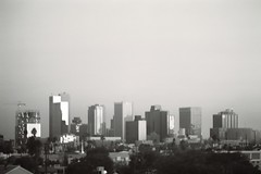 PHX Scape (delunula dot com) Tags: building film phoenix skyline 35mm canon skyscrapers ae1 scape phx philm 0149