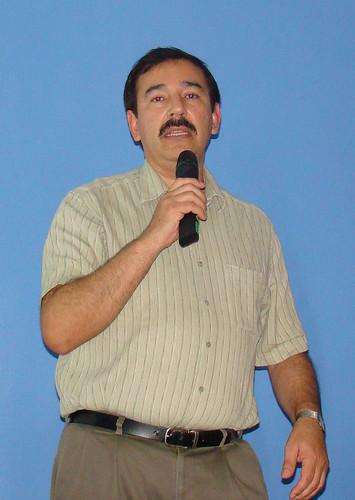 Dr. David Hiriart del Observatorio Nacional