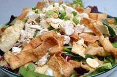 Chicken Won-ton Salad (Evening Edge.com) Tags: atlanta food usa chicken dinner ga salad wonton recipes ajc maindish eveningedge whatcanibring