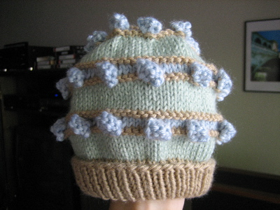 Bobbled Topper Hat