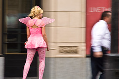 Normal day in Hollywood (A.C.Thamer) Tags: pink girl canon photography losangeles pretty fast tinkerbell fairy hollywood skater quick thamer thamerphotography acthamer alexthamer