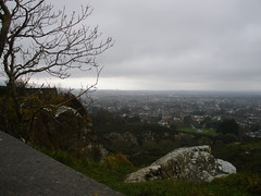 Walking on Dalkey Hill
