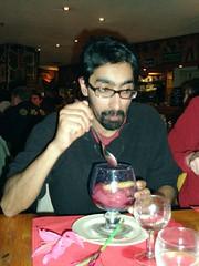 Vit's cold framboise sorbet - liqueur