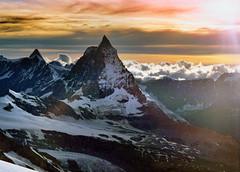 Abstieg von der Dufourspitze (ernst.weberhofer) Tags: monterosa matterhorn dufourspitze