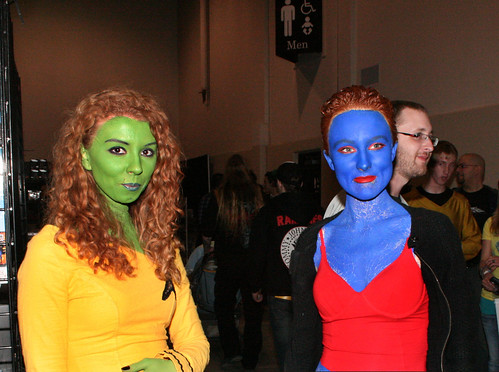 Trekkie and Mystique