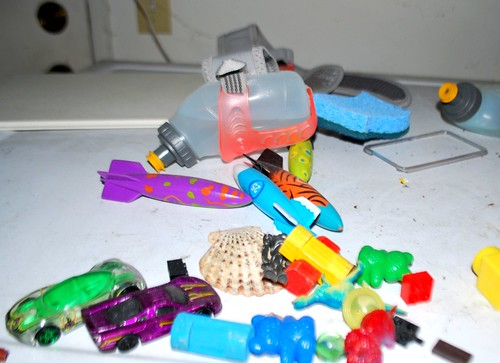 Stuff from Angry Kid's Pockets