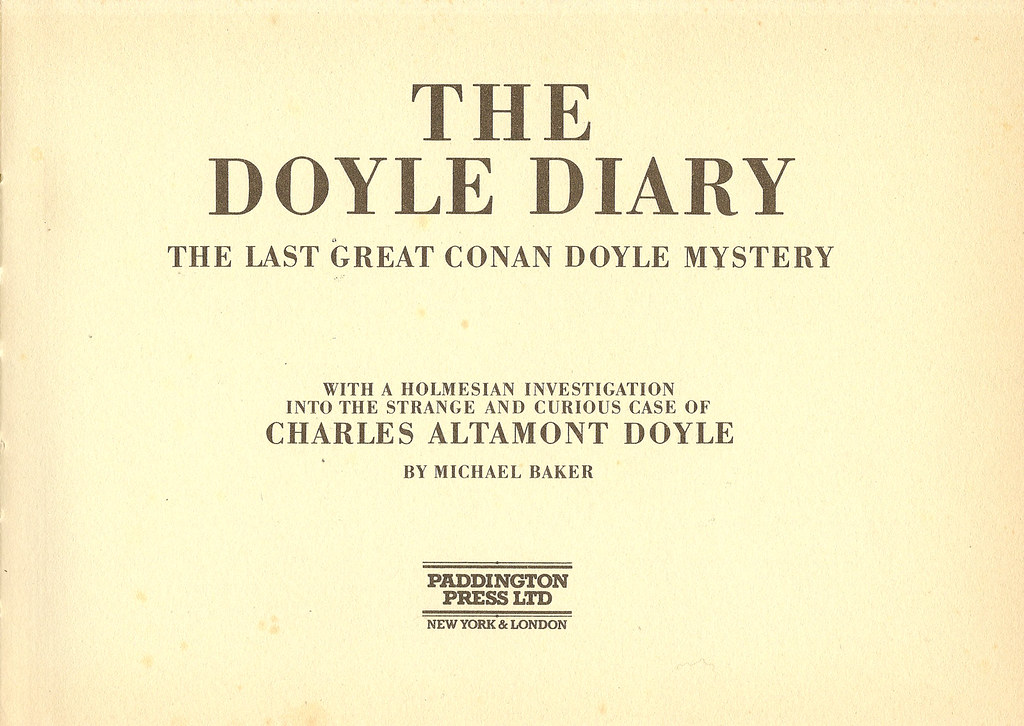The Doyle Diary