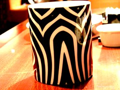 Zebra you mad? (kwelsey) Tags: cup animal random zebra zebrastripes