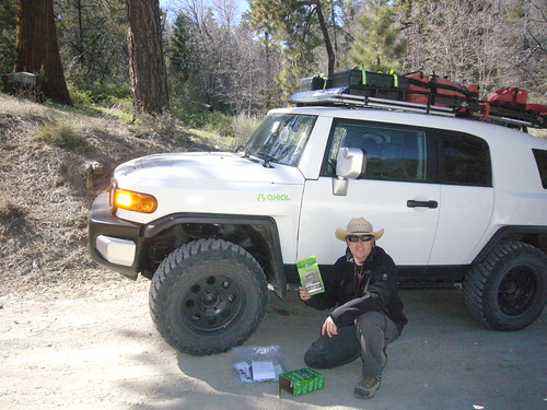 Axial Geocache #2 Finder Steve Barry