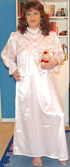 Birgit010562 (Birgit Bach) Tags: ruffles satin nightgown