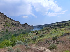 P1000125 (tylerhill75) Tags: camping lake landscape dryfalls deeplake dryfallsstatepark