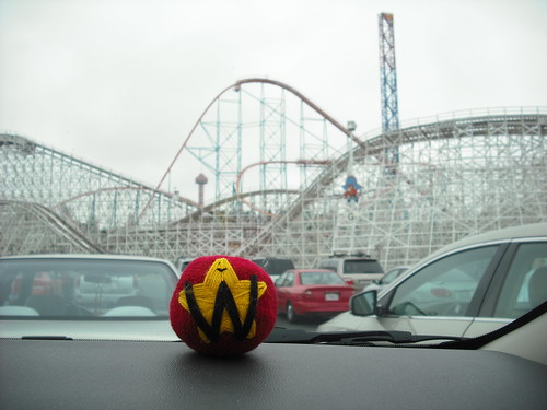 Worcle Ball at Magic Mountain