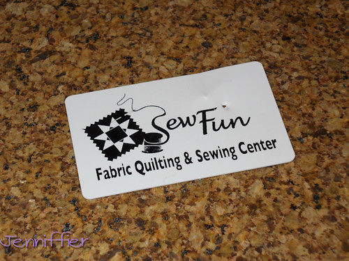 Sew Fun Gift Card