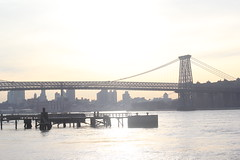 (Nubia Bastos) Tags: nyc winter sunset newyork eastriver williamsburg williamsburgbridge