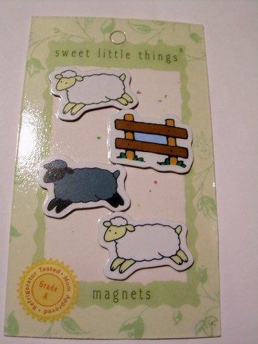 cutie cute sheep magnets