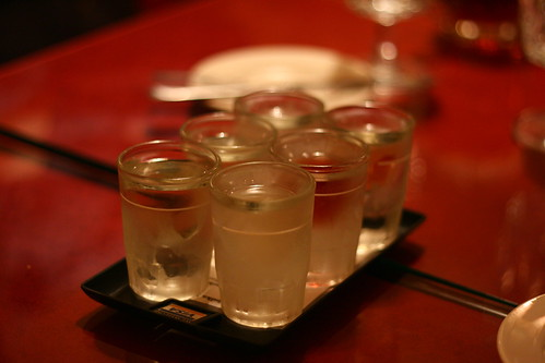 Vodka flight