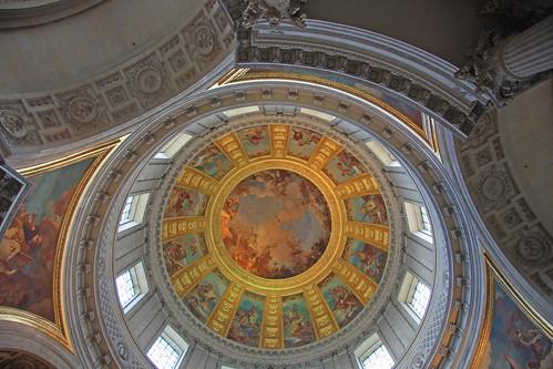 Interior de Los Inválidos, El Dome