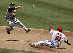 Nationals vs. Pirates, last year - photo by Pittsburgh Post-Gazette
