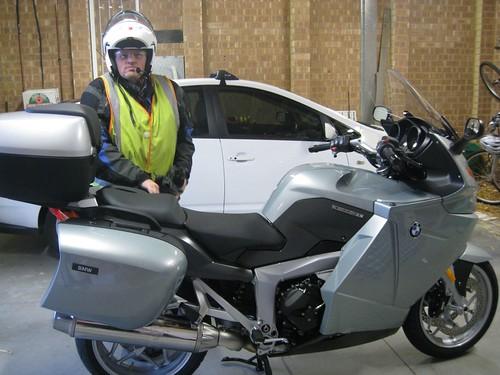 Kevins new motorbike
