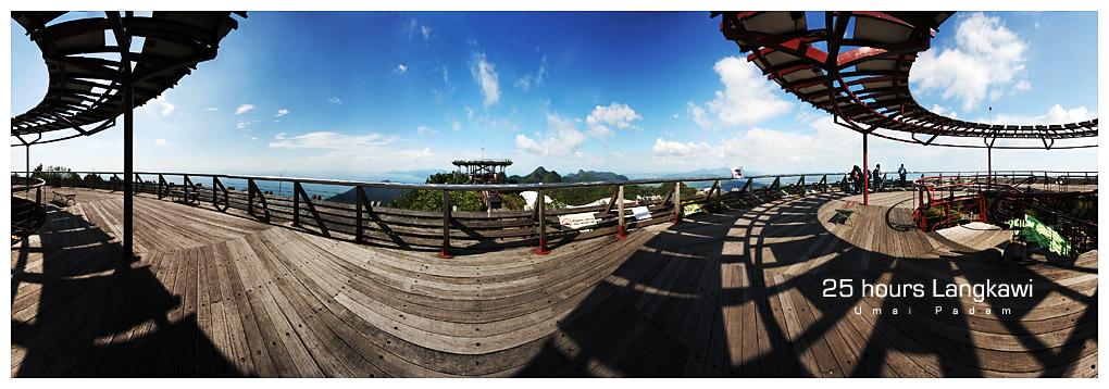 Gunung Mat Cincang Observation Deck