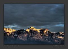 Hoher Kasten (gregor H [PRO EX]) Tags: winter mountain alps berg schweiz wolken gewitter darksky hoherkasten infinestyle