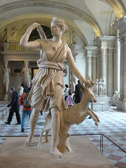 Artemis /  (mitko_denev) Tags: paris france art statue greek ancient louvre sculture artemis         yahoo:yourpictures=sculptures
