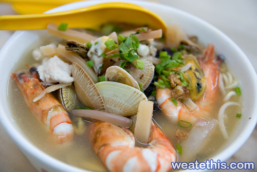 Segambut Seafood Noodles