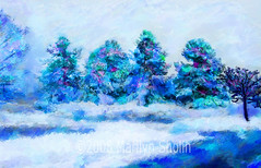 Colorado Blizzard (marilynsholin) Tags: cityscapes digitalpainting painter corel cityart sholin painterx photostoart marilynsholin corelpaintermaster