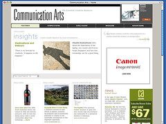 Communication Arts - Site of the Day