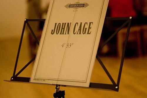 4'33'' de John Cage