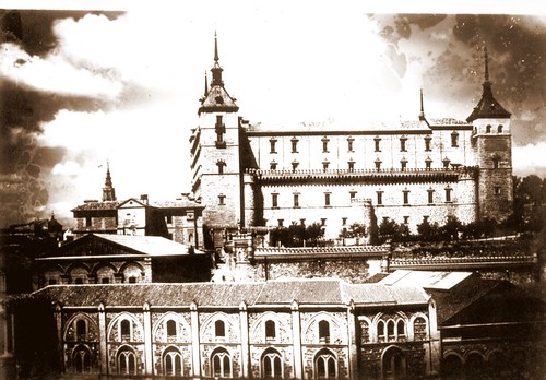 Alcázar de Toledo a principios del S. XX