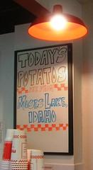 Today's potatos