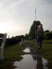 Dad, reflected (hudson)
