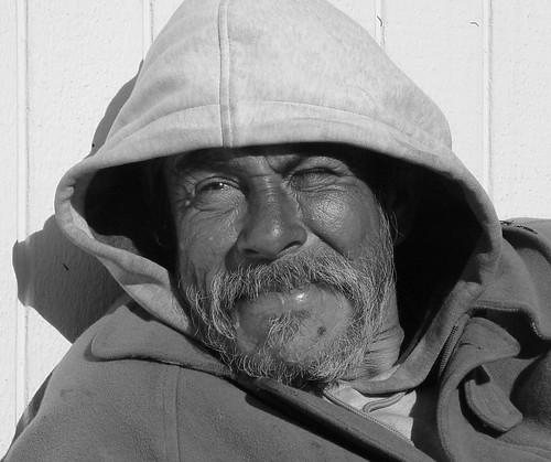 Thomas, Homeless (Black & White) by Franco Folini, on Flickr