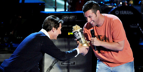 Mtv movie 2008 Adam Sandler y Tom Cruise