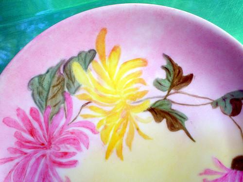 Handpainted Hutschenreuther Dessert Plate