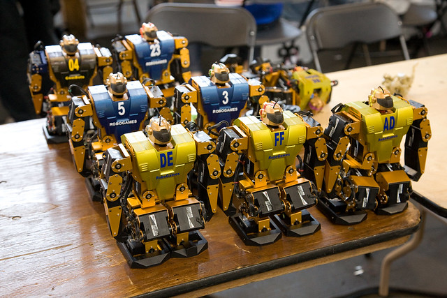 Robots Preparing for The Singularity