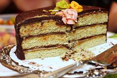 Pistachio Petit-Four Cake