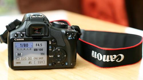 Canon XSi/450D (back)