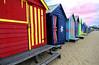 Brighton Beach (Boxes) - Australia (oo Felix oo) Tags: red sun color sol beach rojo nikon colours flag australia playa colores bandera verano d80 felmar artlegacy goldstaraward felmar73