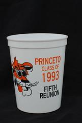 Class of 1993 5th Reunion Cup (Joe Shlabotnik) Tags: cup princeton typo 2008 reunions faved classof1993 princeto june2008 reunionscup reunions1998