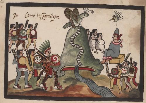 Ilustraciones del México Azteca