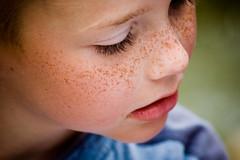 FRECKLES (innees) Tags: baby color art beauty face pretty child freckles naturallightkids portatrait agnieszkazaleska agnieszkakrajewskazaleska
