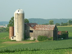 Buffalo Township Farm (Gerry Dincher) Tags: barn corn pennsylvania farm silo unioncounty buffalotownship pennsylvaniaroute192