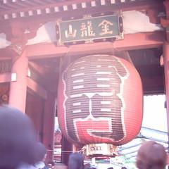 【写真】ミニデジで撮影した浅草寺雷門