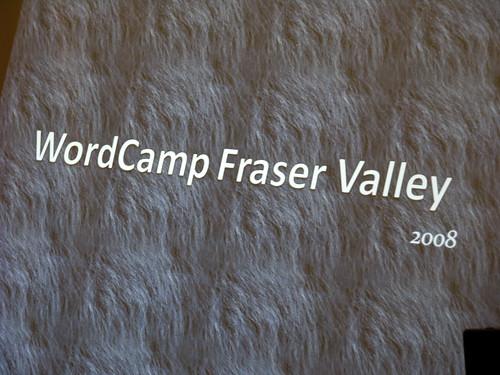 WordCamp Fraser Valley