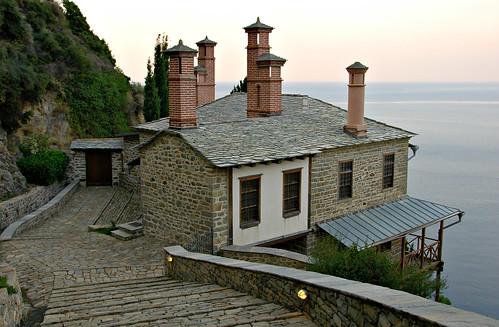 Mt Athos - Holy Monastery of Simonos Petra (Simonopetra)